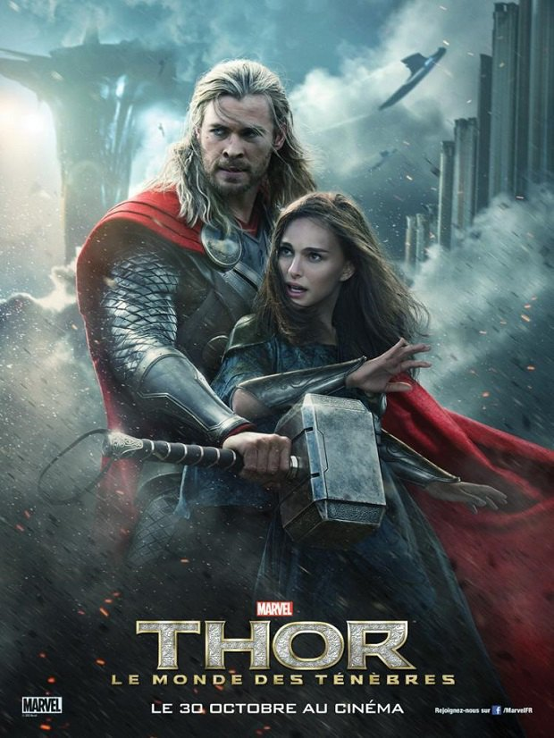 В Китае премьеру «Тор 2: Царство тьмы» сопроводили гомосексуальным постером. Изображение № 2.
