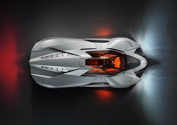 Lamborghini представили концепт одноместного суперкара Egoista. Изображение № 5.