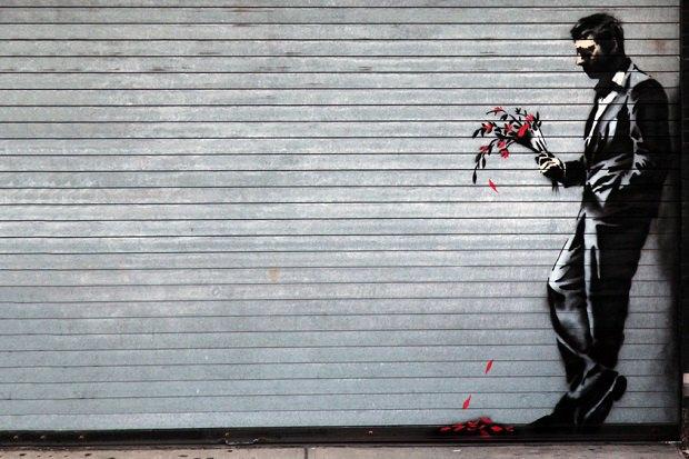 Новое граффити Бэнкси появилось на улицах Адской кухни . Изображение № 2.