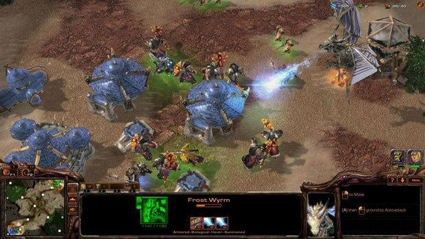 Геймер создал игру Warcraft IV на движке StarCraft II . Изображение № 4.