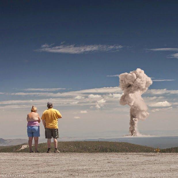 Atomic Overlook: Атомный взрыв как туристический объект на фото Клэя Липски. Изображение № 3.