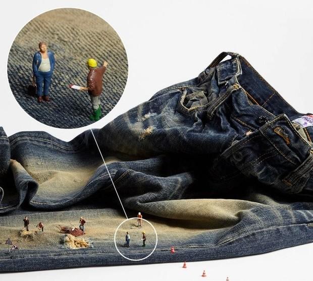Маленькая страна: Миниатюрные модели в съемке интернет-магазина Mywardrobe. Изображение № 5.
