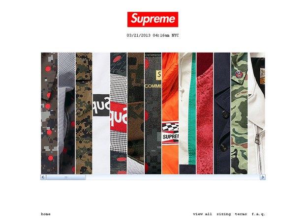 В конце года в Европе откроется интернет-магазин Supreme. Изображение № 1.