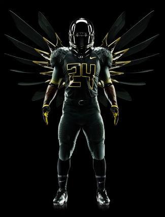 Футуристичная униформа команды Oregon Ducks. Изображение № 2.
