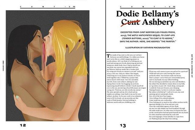 Adult: Новый журнал радикальной эротики для феминисток. Изображение № 2.