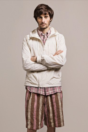 Японская марка ts(s) выпустила лукбук весенней коллекции одежды. Изображение № 1.