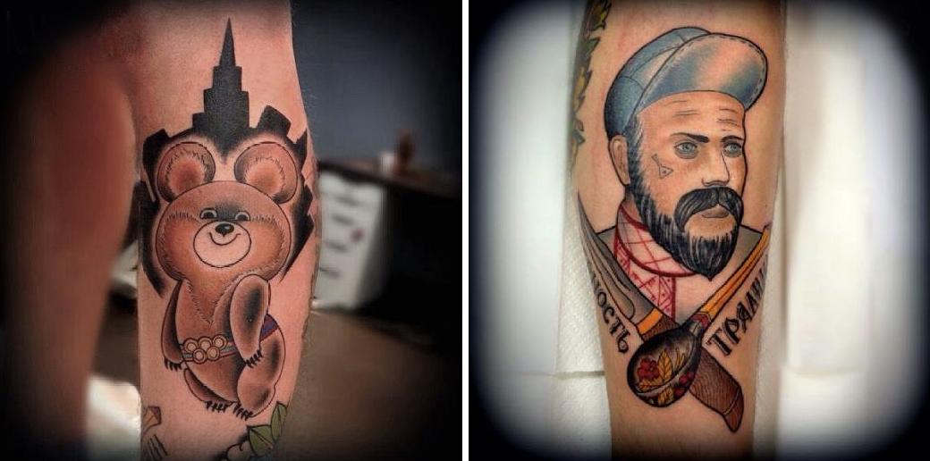 Русский народный олдскул: Традиционные татуировки на российский манер. Изображение № 11.