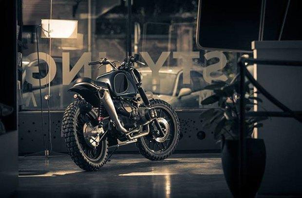 Мотомастерская ER motorcycles представилановый кастом на базе BMW R60/7. Изображение № 2.