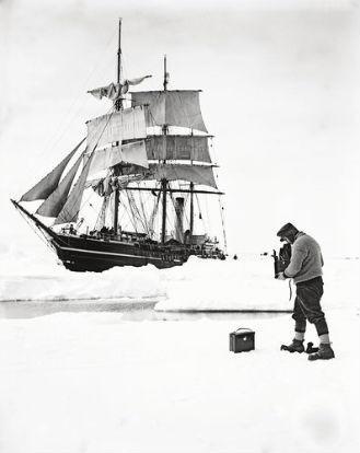 Считавшиеся утерянными фотографии Антарктики были выставлены в британских музеях. Изображение № 6.