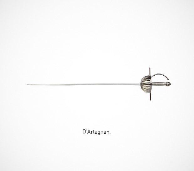 Итальянский дизайнер представил коллекцию ножей знаменитых персонажей. Изображение № 32.