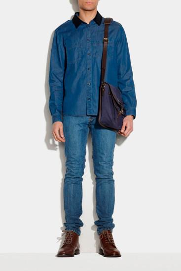Марка A.P.C. опубликовала лукбук новой коллекции одежды. Изображение № 7.
