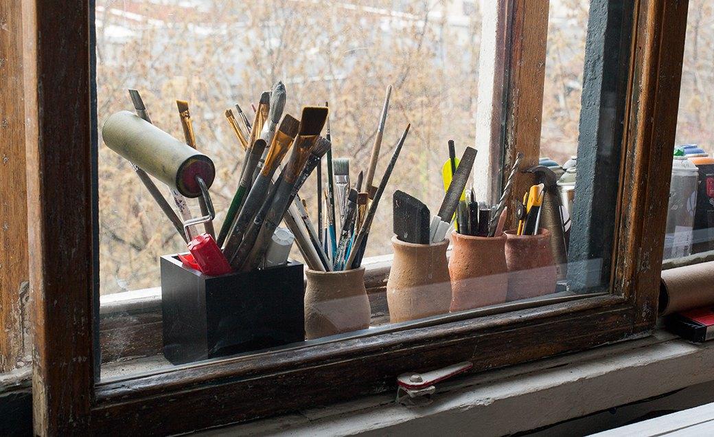 Дом культуры: Молодые московские художники и их мастерские. Изображение № 29.
