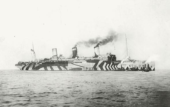 История камуфляжа Dazzle —от картин кубистов до военных крейсеров и принтов на одежде. Изображение № 12.