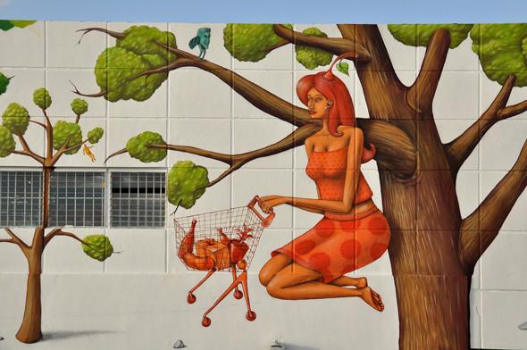 Скетчбук: Участники граффити-дуэта из Киева Interesni Kazki рассказывают о своих лучших работах. Изображение № 43.