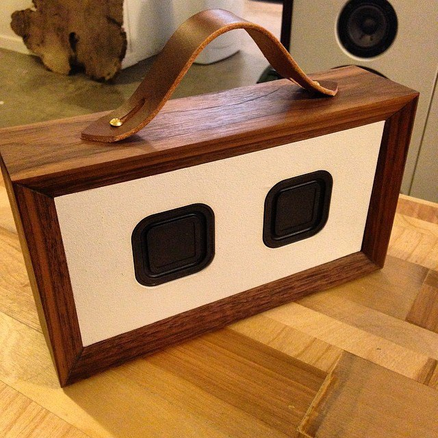 Ручная работа: Портативная аудиосистема Elevate Woodworks. Изображение № 1.