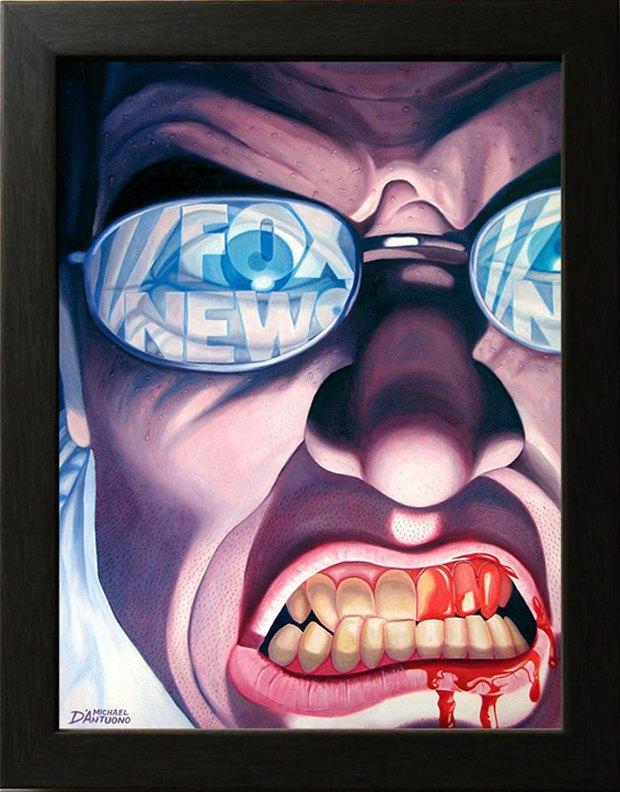 Майкл Д'Антуоно: Социальный поп-арт в работах американского художника. Изображение № 1.