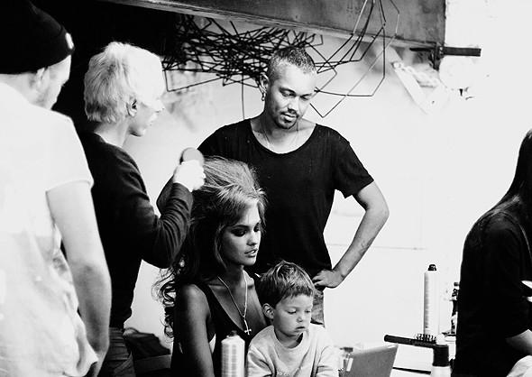 Дом моды: Репортаж со съемок видео модельного агентства. Изображение № 10.