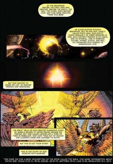 В США превратят Библию в «тестостероновые» комиксы. Изображение № 4.