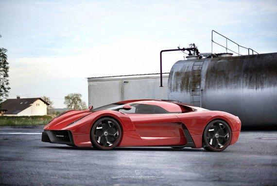 Представлен новый концепт суперкара на базе Ferrari 458 Italia. Изображение № 16.