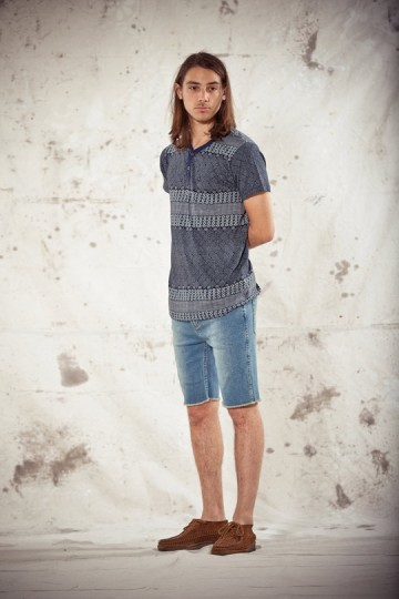 Марка Obey выпустила лукбук весенней коллекции одежды. Изображение № 4.