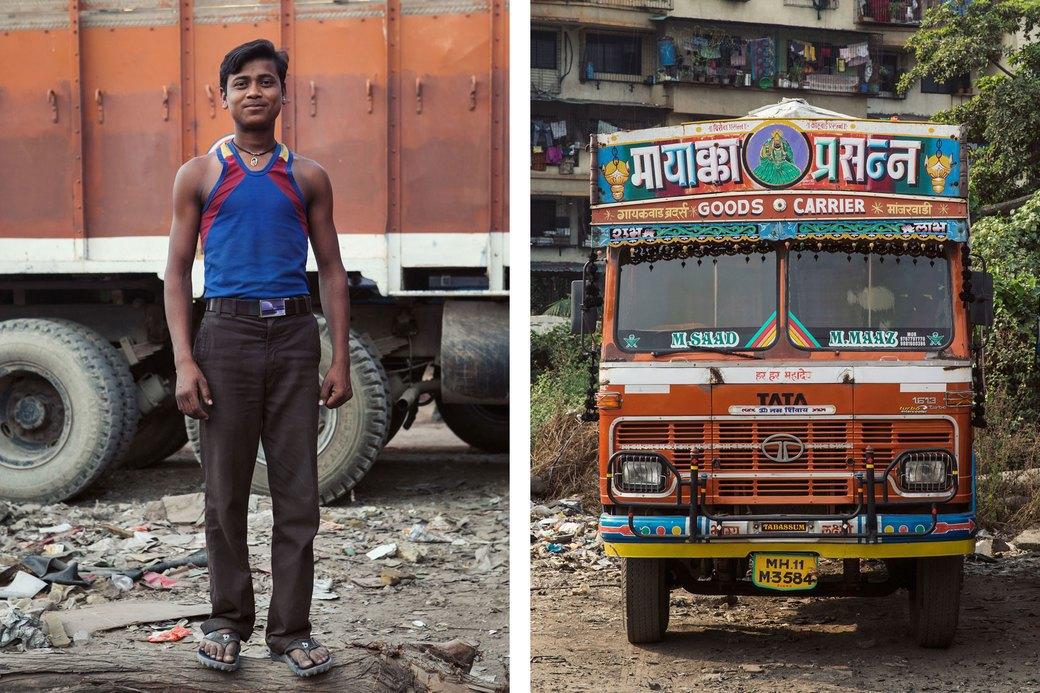 Я и друг мой грузовик: Индийские дальнобойщики и их автомобили. Изображение № 13.