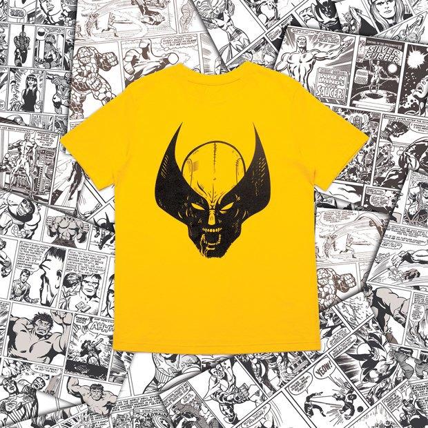 Магазин Kixbox, Marvel и российские художники выпустили совместную коллекцию футболок . Изображение № 8.