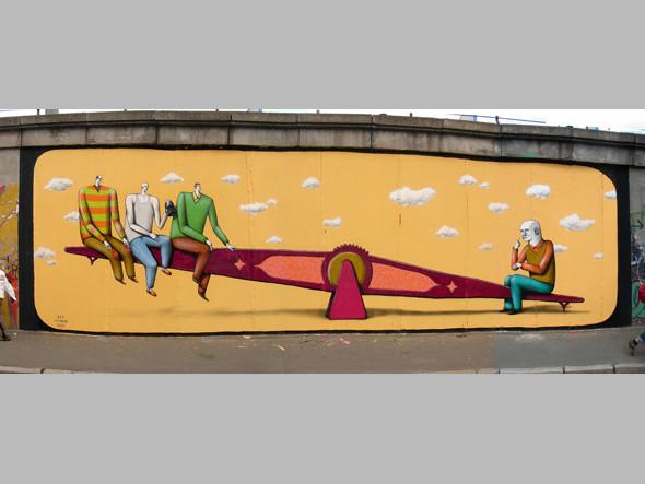 Скетчбук: Участники граффити-дуэта из Киева Interesni Kazki рассказывают о своих лучших работах. Изображение № 5.