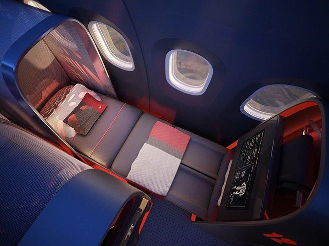 Nike представила супертехнологичный самолёт для своих спортсменов. Изображение № 8.