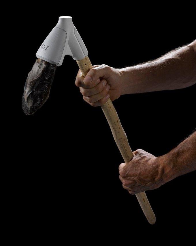 Man Made: Орудия доисторической эпохи, реконструированные на 3D-принтере. Изображение № 3.