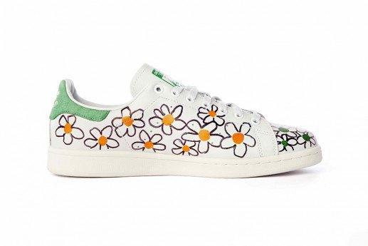 Adidas выпустит коллекцию кроссовок Stan Smith, вручную разрисованных Фарреллом. Изображение № 3.
