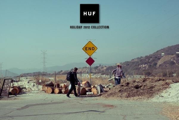 Марка Huf опубликовала лукбук новой коллекции одежды своей линейки Holiday. Изображение № 1.