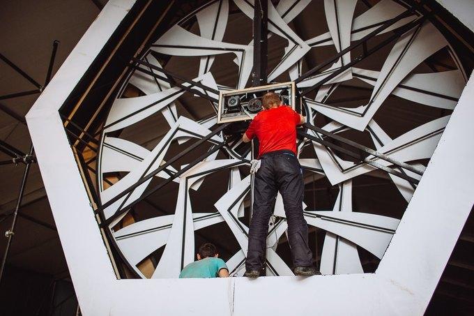 Фоторепортаж: Строительство объектов фестиваля Outline. Изображение № 37.
