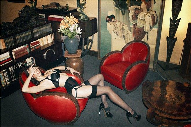 Чилийская модель Хамира Зулогада снялась в рекламе нижнего белья Mise en Cage. Изображение № 3.