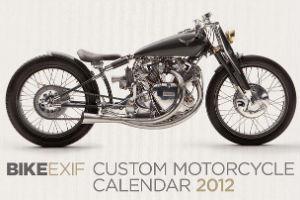 Сайт Bike EXIF выпустил календарь с кастомизированными мотоциклами. Изображение № 13.