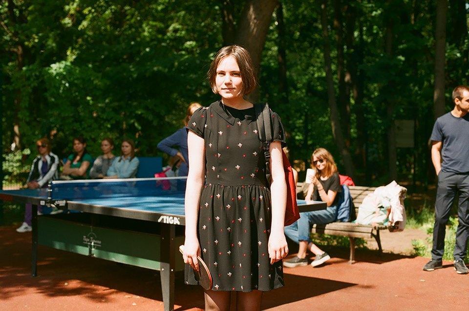 Фоторепортаж: Женский турнир по пинг-понгу в Нескучном саду. Изображение № 8.