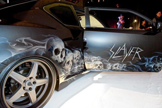 Дизайнер превратил авто марки Scion в Slayer-мобиль. Изображение № 4.