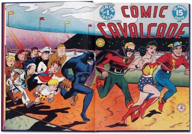 Вышла книга об истории комиксов The Golden Age of DC Comics. Изображение № 1.