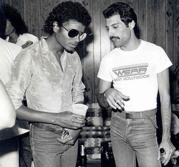 Queen выпустит сплит Фредди Меркьюри и Майкла Джексона. Изображение № 1.