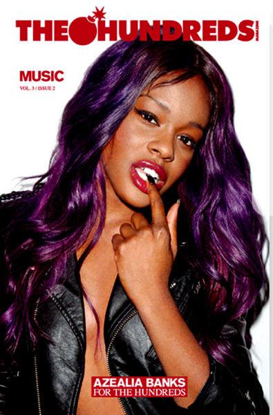 Азалия Бэнкс снялась для журнала марки The Hundreds. Изображение № 1.