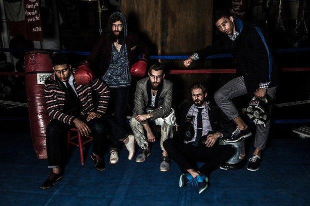 Марка Cole Haan и сайт Grungy Gentleman выпустили лукбук совместной коллекции одежды. Изображение № 2.