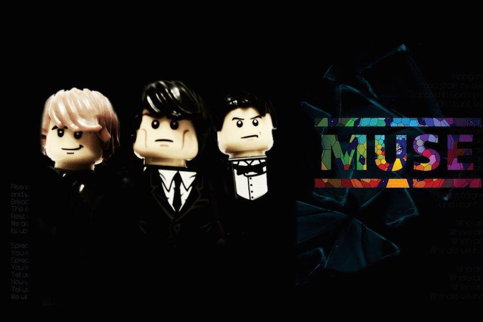 Lego-go: Культовые группы в виде фигурок из конструктора LEGO. Изображение № 8.