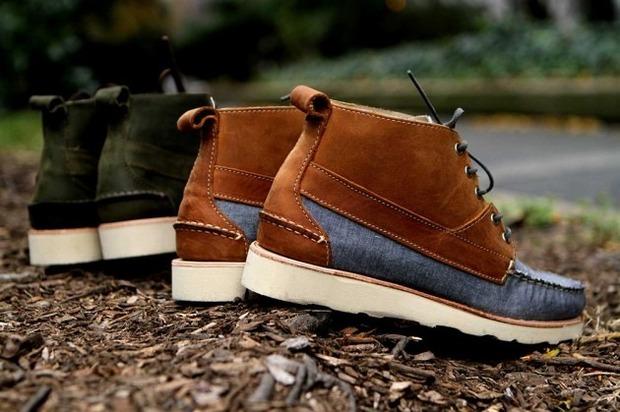 Дизайнер Ронни Фиг и марка Sebago выпустили капсульную коллекцию обуви. Изображение № 3.