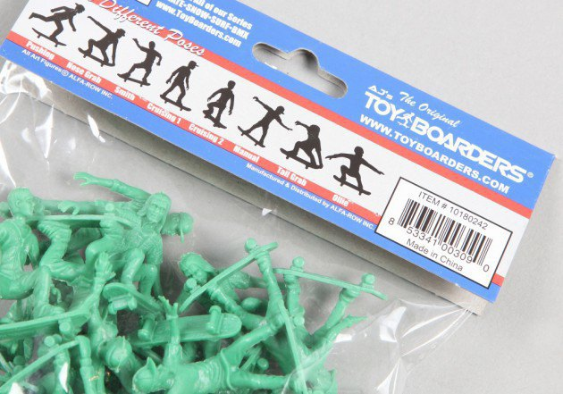 Американский производитель солдатиков выпустил игрушечных скейтеров. Изображение № 6.