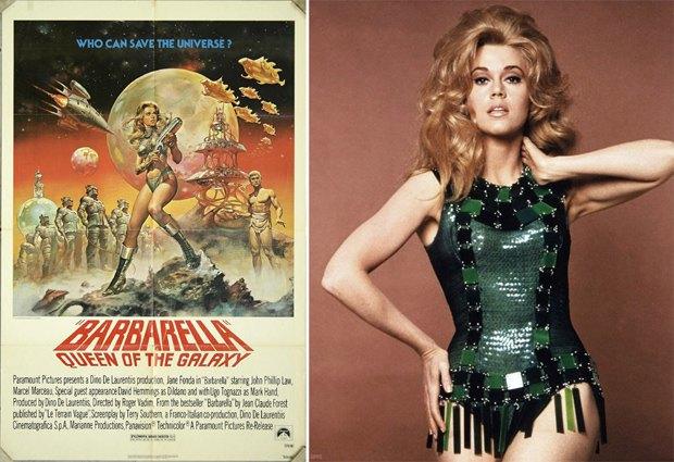 Amazon Studios готовят ремейк фантастического фильма «Барбарелла». Изображение № 1.