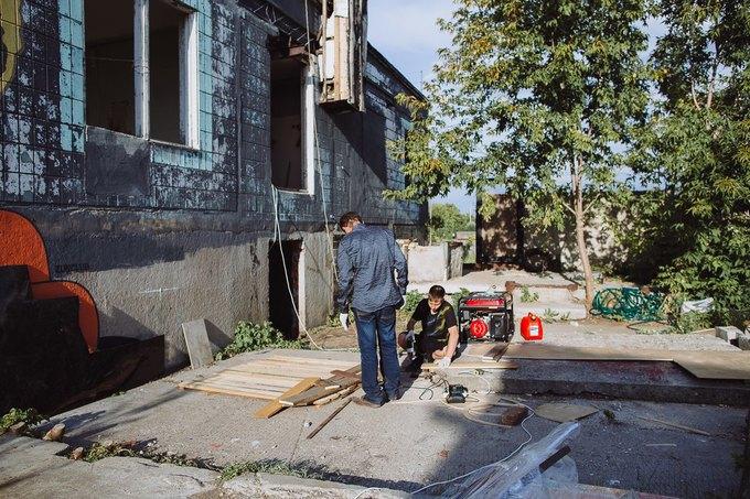 Фоторепортаж: Строительство объектов фестиваля Outline. Изображение № 87.