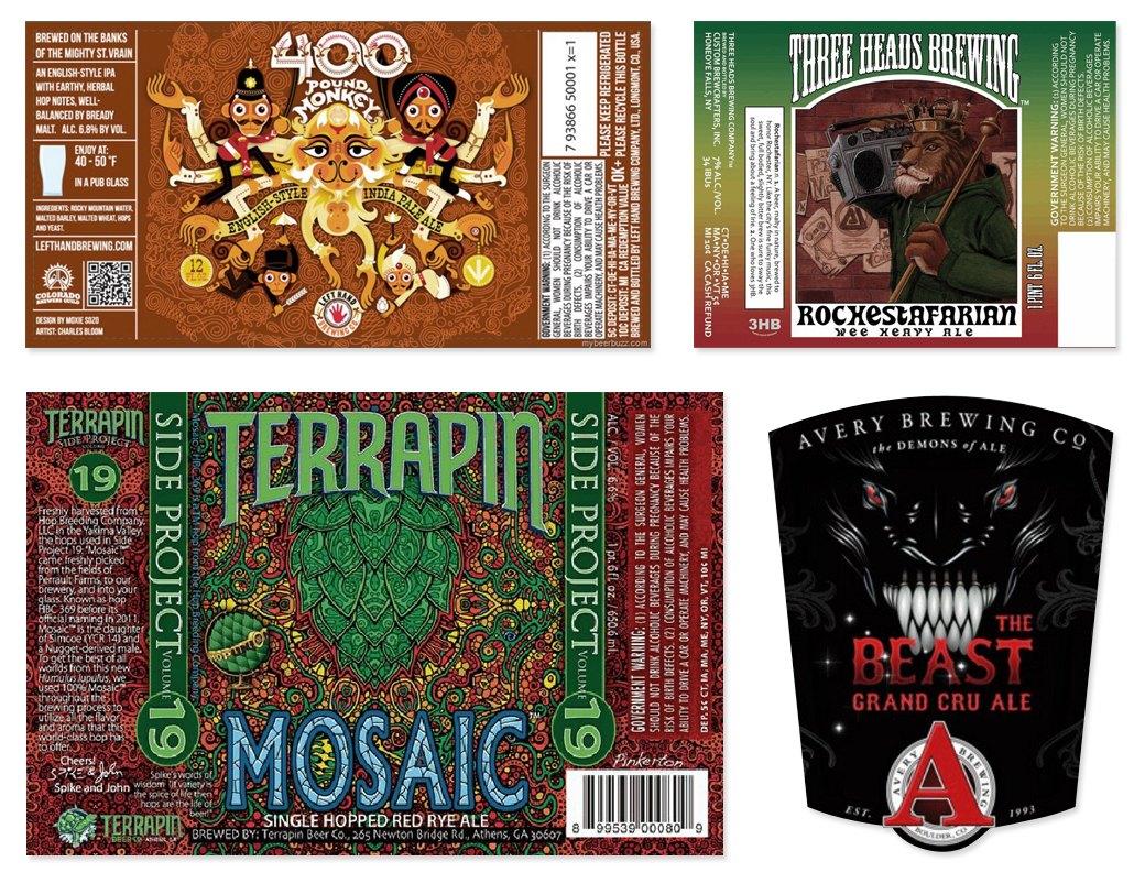 Этикетки современного крафтового пива. Изображение №7.