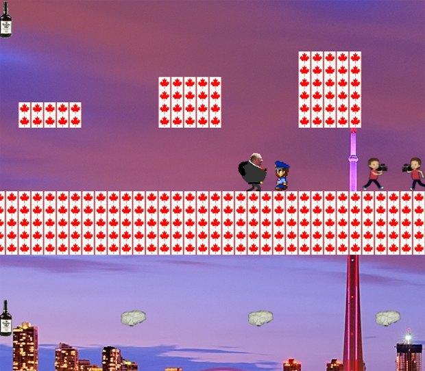 По биографии мэра Торонто сделали видеоигру. Изображение № 1.