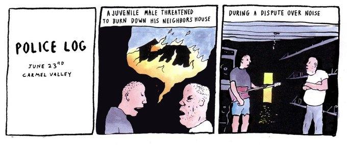 Police Log Comics: Абсурдные полицейские сводки в формате комиксов. Изображение № 16.