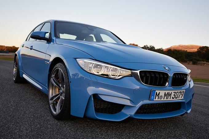 BMW представила новый седан M3 и купе M4. Изображение № 8.
