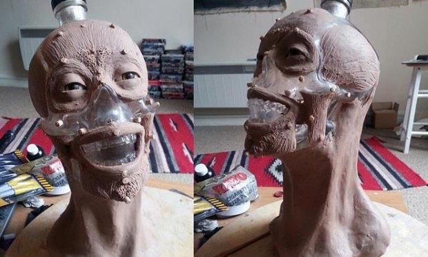 Шотландец восстановил лицо человека по черепу с бутылки водки Crystal Head. Изображение № 2.